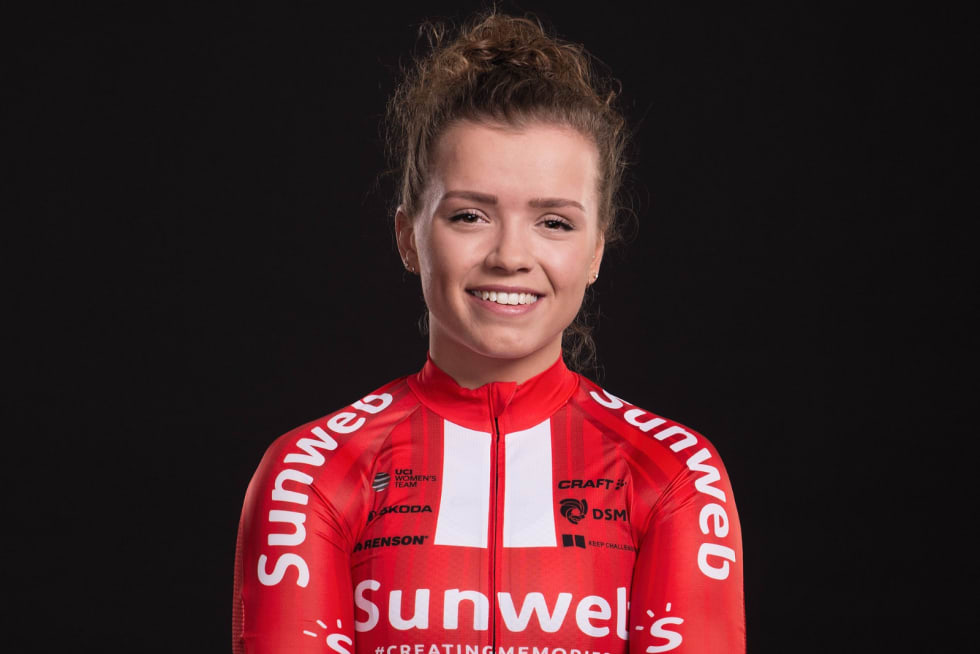 BESTE NORSKE: Susanne Andersen ble beste norske i kvinnenes fellesstart. Foto: Team Sunweb