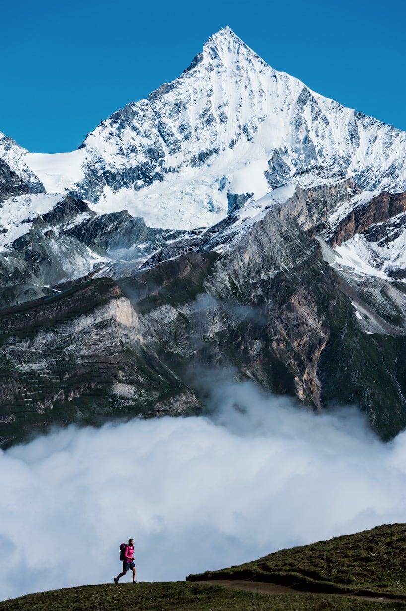 VANDRING: Zermatt er et vandringsparadis. Det kryr av veltråkkete stier og omgivelsene er mildt sagt imponerende.