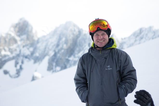 LEGENDE: Stian Hagen fra Oslo bor i Chamonix hvor han jobber mye som skiproff og utstyrsutvikler, og litt som fjellguide. Han har bodd i byen i over tjue år, og er utvilsomt en av Norges mest meritterte og erfarne frikjørere.