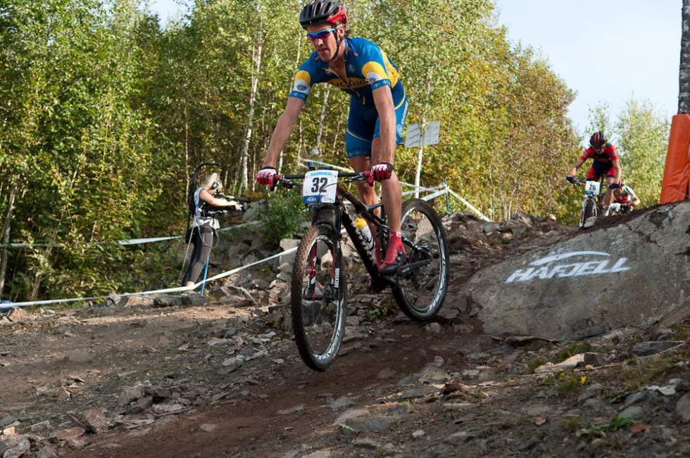 BEST I NORDEN: Matthias Wengelin stod for den beste nordiske prestasjonen i VM-rittet med en 32. plass.