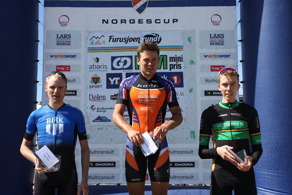 Lars Granberg - Emil Hasund Eid - Sigurd Salberg Pedersen - Furusjøen Rundt 2018 - Arrangøren
