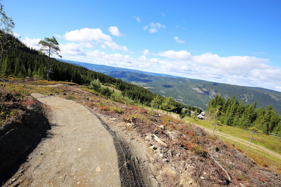 Hafjell new trail - Photo Hafjell Alpinsenter 1400x933