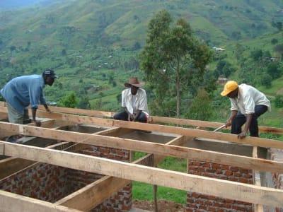 Byggingen viser hvor langt prosjektet er i starten av mars.