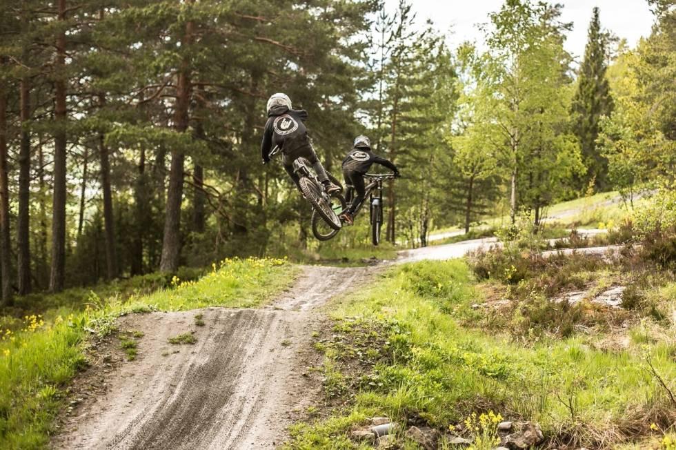 flytløypa i Drammen bike park