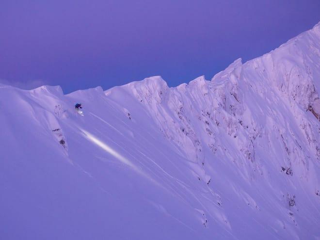 FRISTENDE TERRENG: Dette bildet fra Grytøya i januar ble vinner av konkurransen Helgebildet for noen uker siden. Foto: Stian Hallen