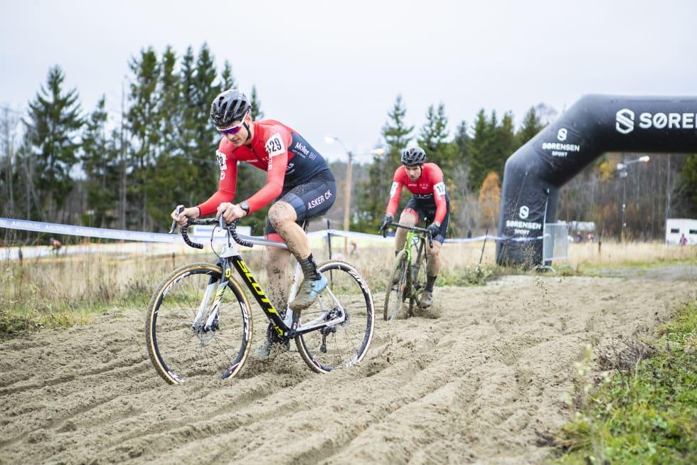 BERYKTET: Sandgraven på Spikkestad er beryktet som spesielt dyp, grov og vanskelig. Foto: Pål Westgaard