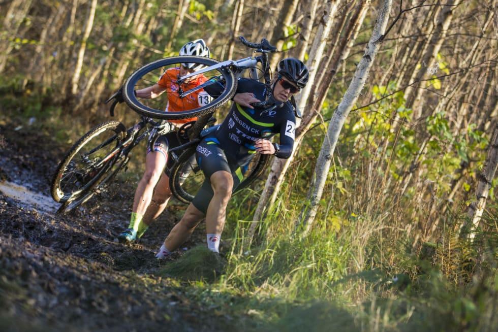 SKADET: Regjerende norgesmester Ingrid Moe er ute med skader etter en velt i mai og får ikke konkurrert denne sesongen. Foto: Per-Eivind Syvertsen