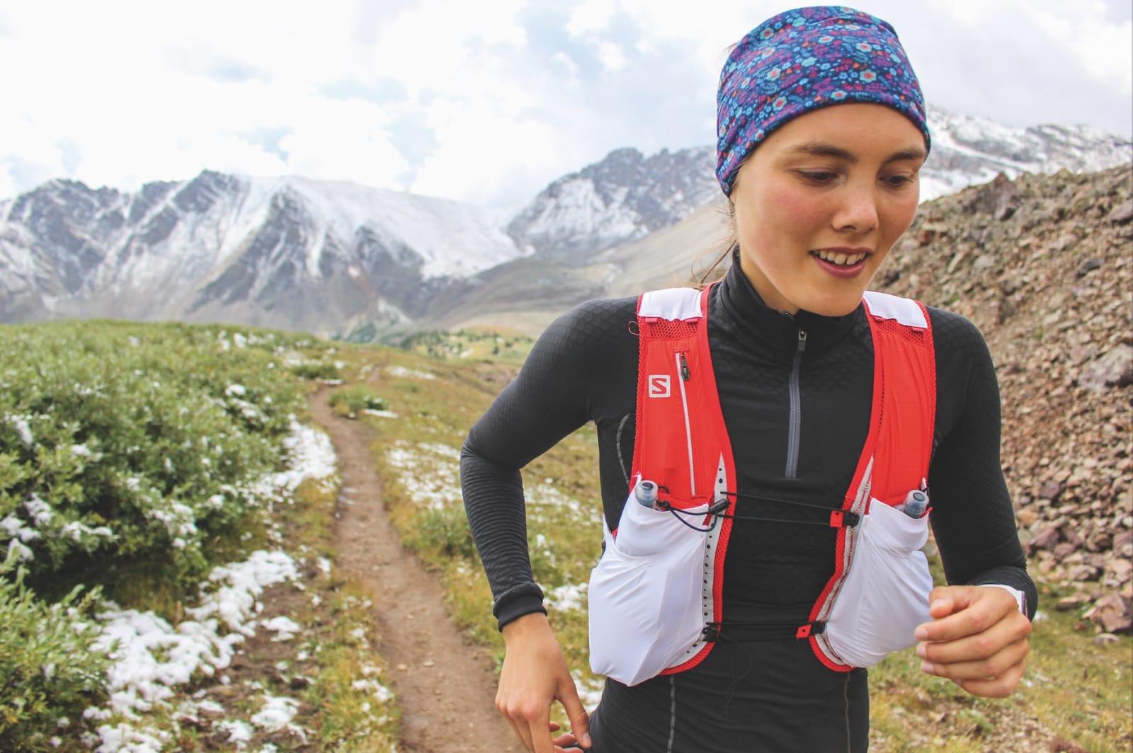 VERDEN RUNDT: Løpingen har tatt Yngvild verden rundt. Her er hun i aksjon i ett terrengløp i Aspen. Foto: Martina Valmassol