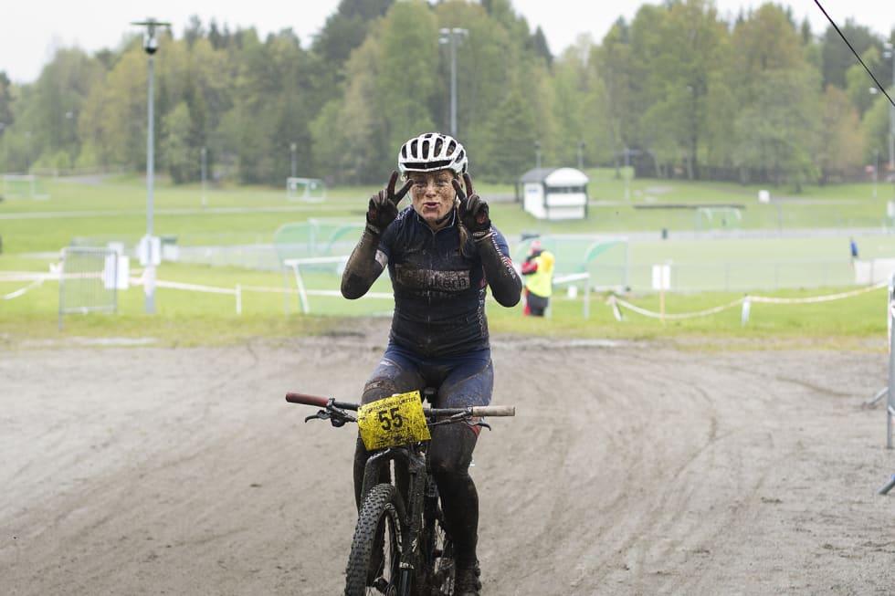 Kristin Aamodt Terrengsykkelrittet 2015- Kippernes