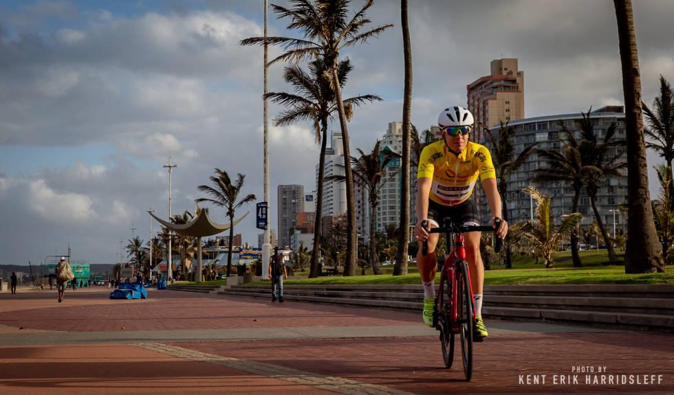 EVENTYR: Gran Fondo World Tour har mange spennende destinasjoner, og i fjor avsluttet jeg sesongen i Durban, Sør-Afrika. (Foto: Kent Erik Harridsleff).