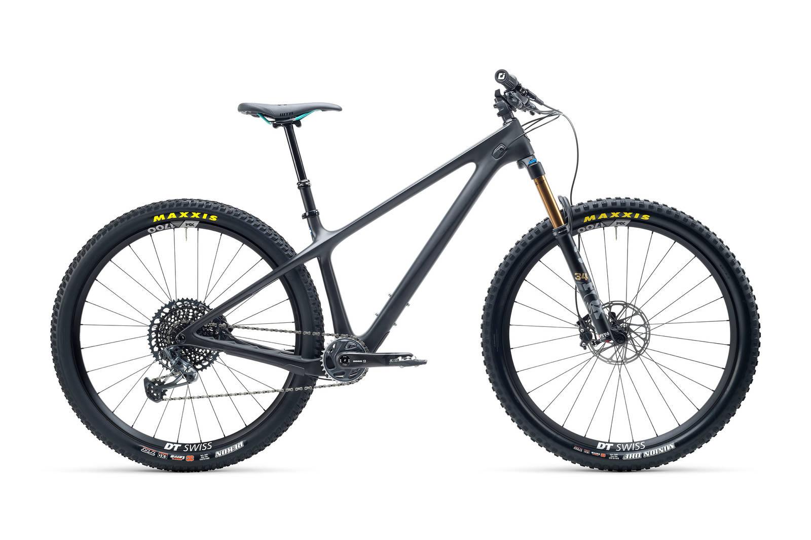 SORT: Sykkelen får du i Yetis signatur-turkis, og sort. Foto: Yeti