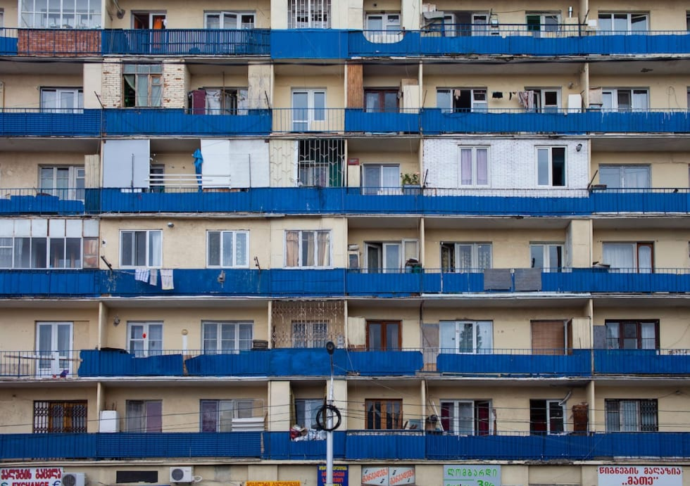 Georgia_Tblisi_boligblokk fra Sovjettiden