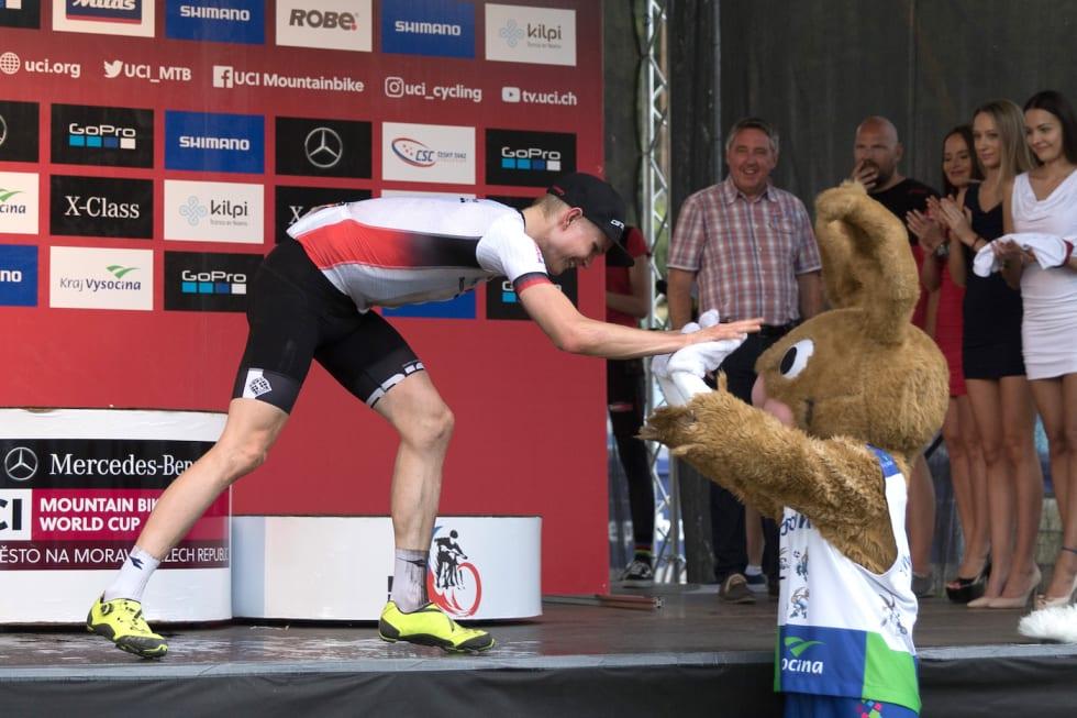 Petter Fagerhaug - mascot - WC Nove Mesto 2018 - Bengt Ove Sannes 1400x933