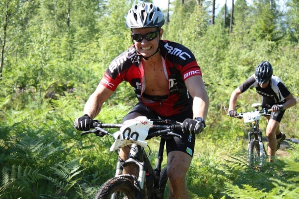 Etter at Sigrid Groven ble hekta på stisykling gikk det også fortere på tradisjonelle sykkelritt. Foto: Privat