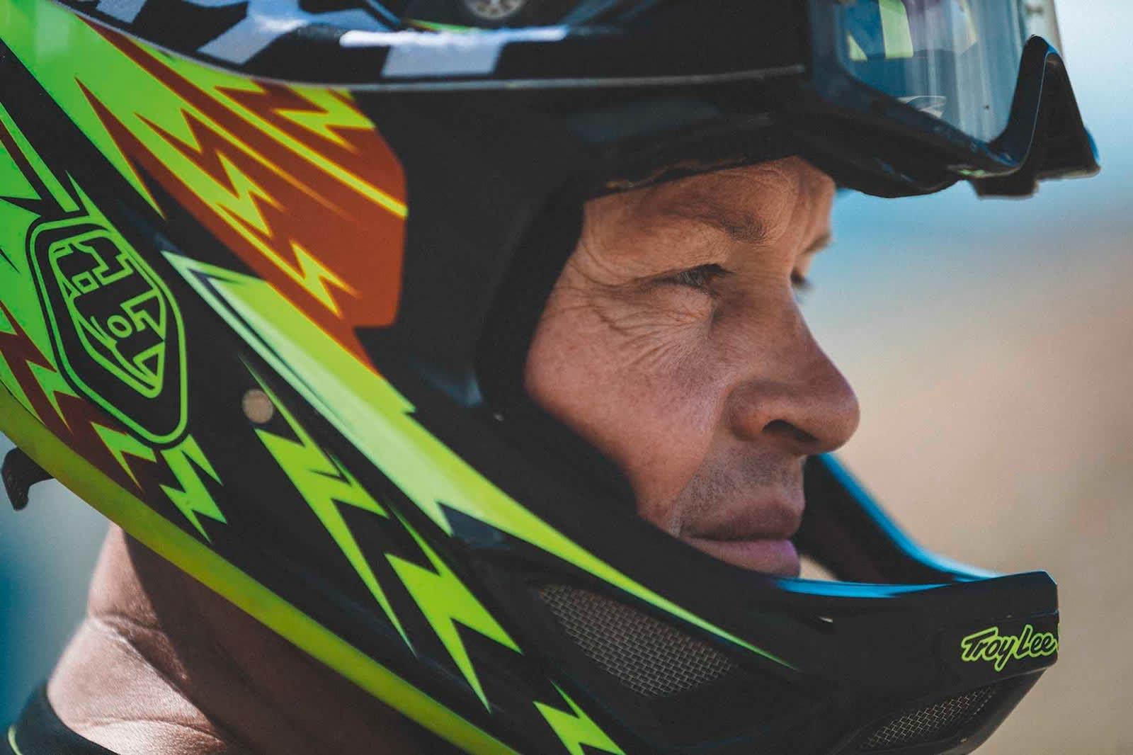 VETERAN: Snorre Pedersen har vært med helt fra starten i Hafjell Bike Park.