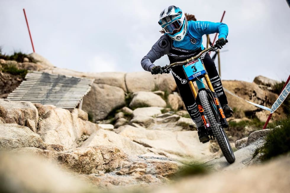 Mille Johnset - WC Fort William 2018 - The Hills are Alive 1400x933