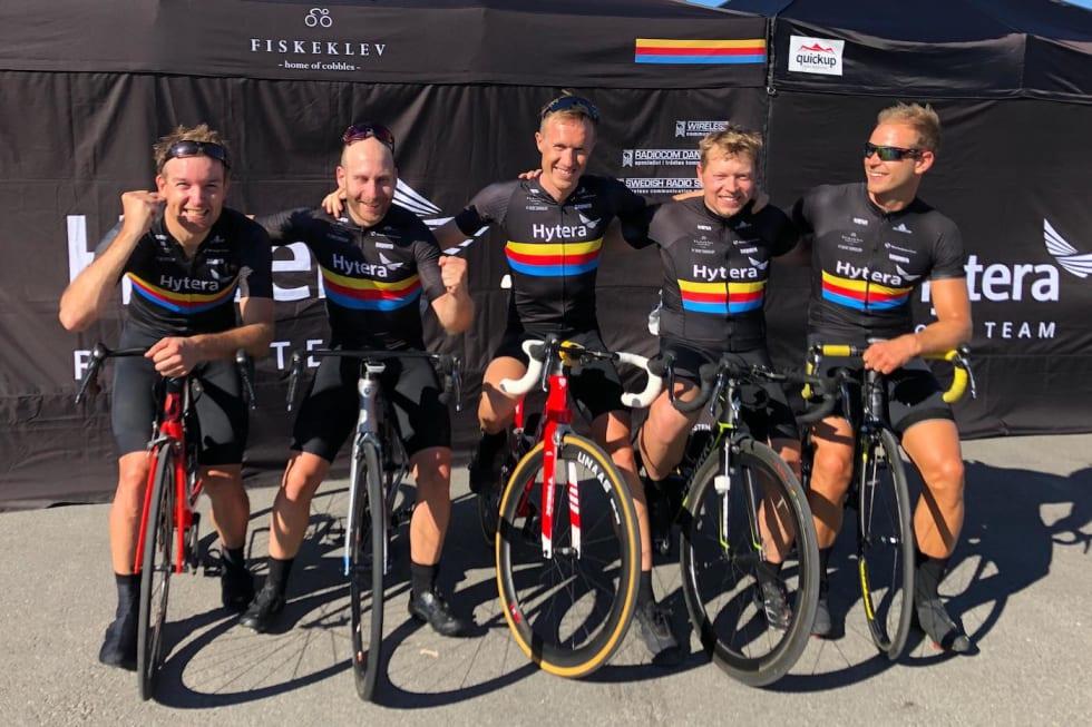 NM 2018 - Heine Liland, Vegard Halvorsen, Øystein Fundingsrud, Martin Iversby, Martin Strand Foto Fred Voldset 1400x933