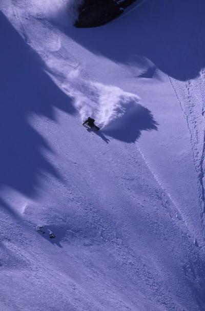 FRIKJØRER: Shane McConkey var rett og slett sjukt god på ski. Foto: Endre Løvaas