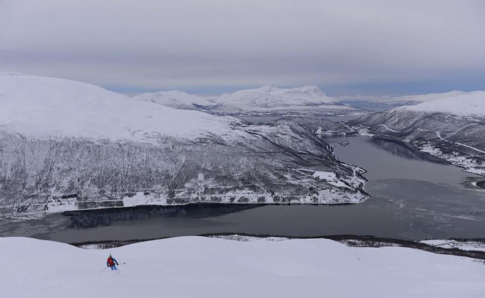 Sist uke var det strøkne forhold i Tromsø-området. Foto: Espen Nordahl