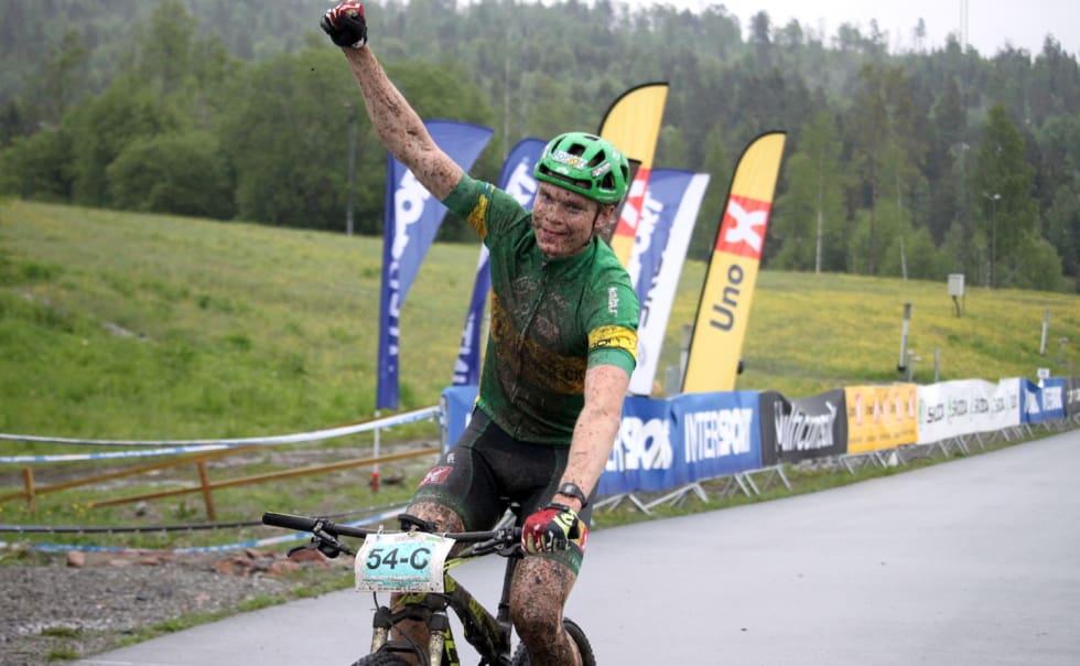 Petter Fagerhaug NC stafett Konnerud - NCF