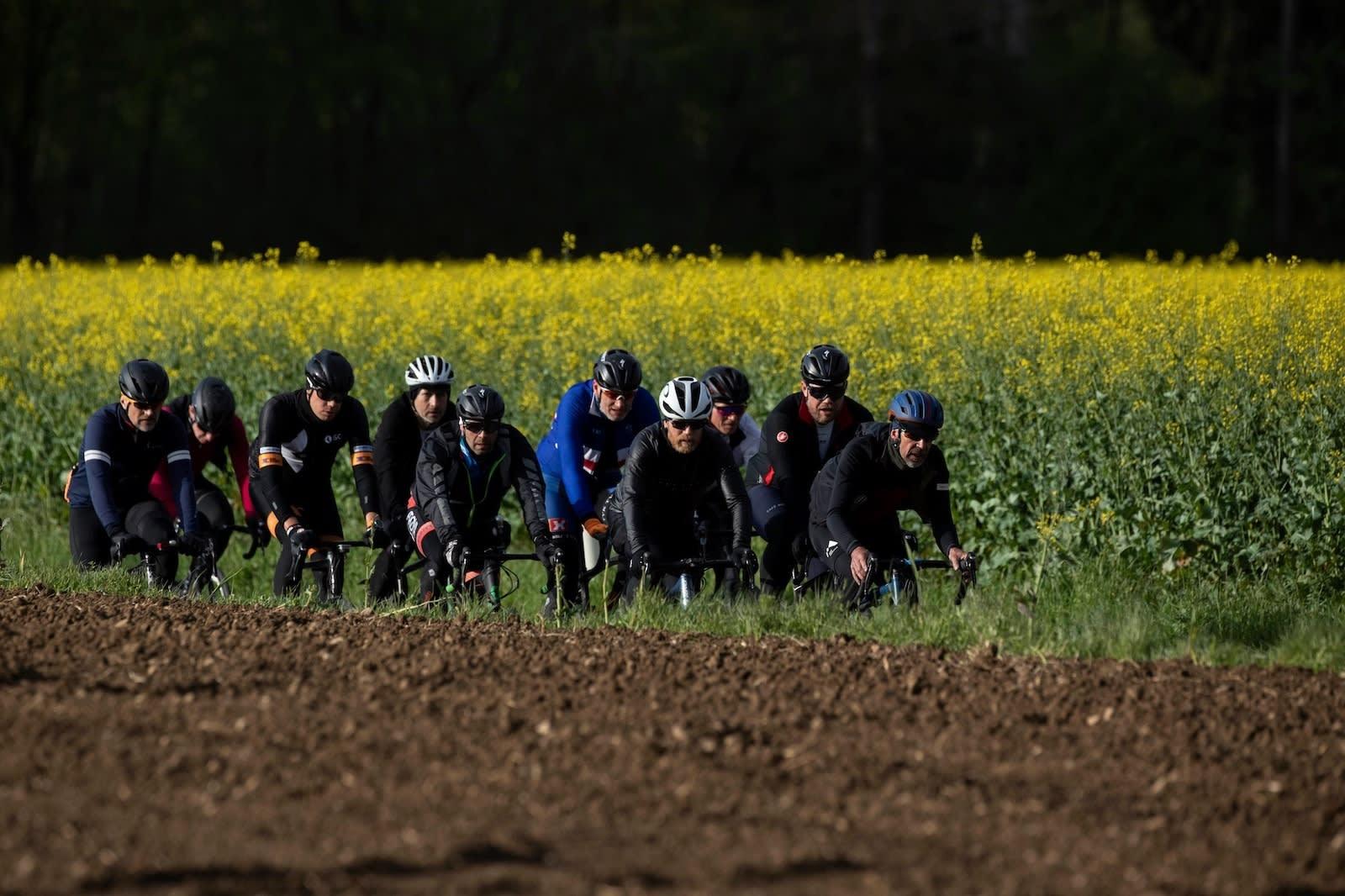 VARIERT: Trønderekspressen fikk en smakebit av dert meste Belgia har å tilby syklister. Foto: Rupert Hartley
