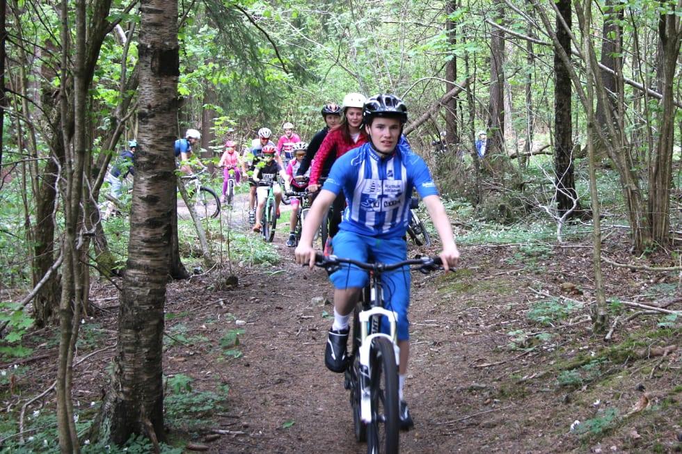 Eidanger IL rekruttering 2017 Simen on Trail - Foto Kjetil Haugersveen 1400x933