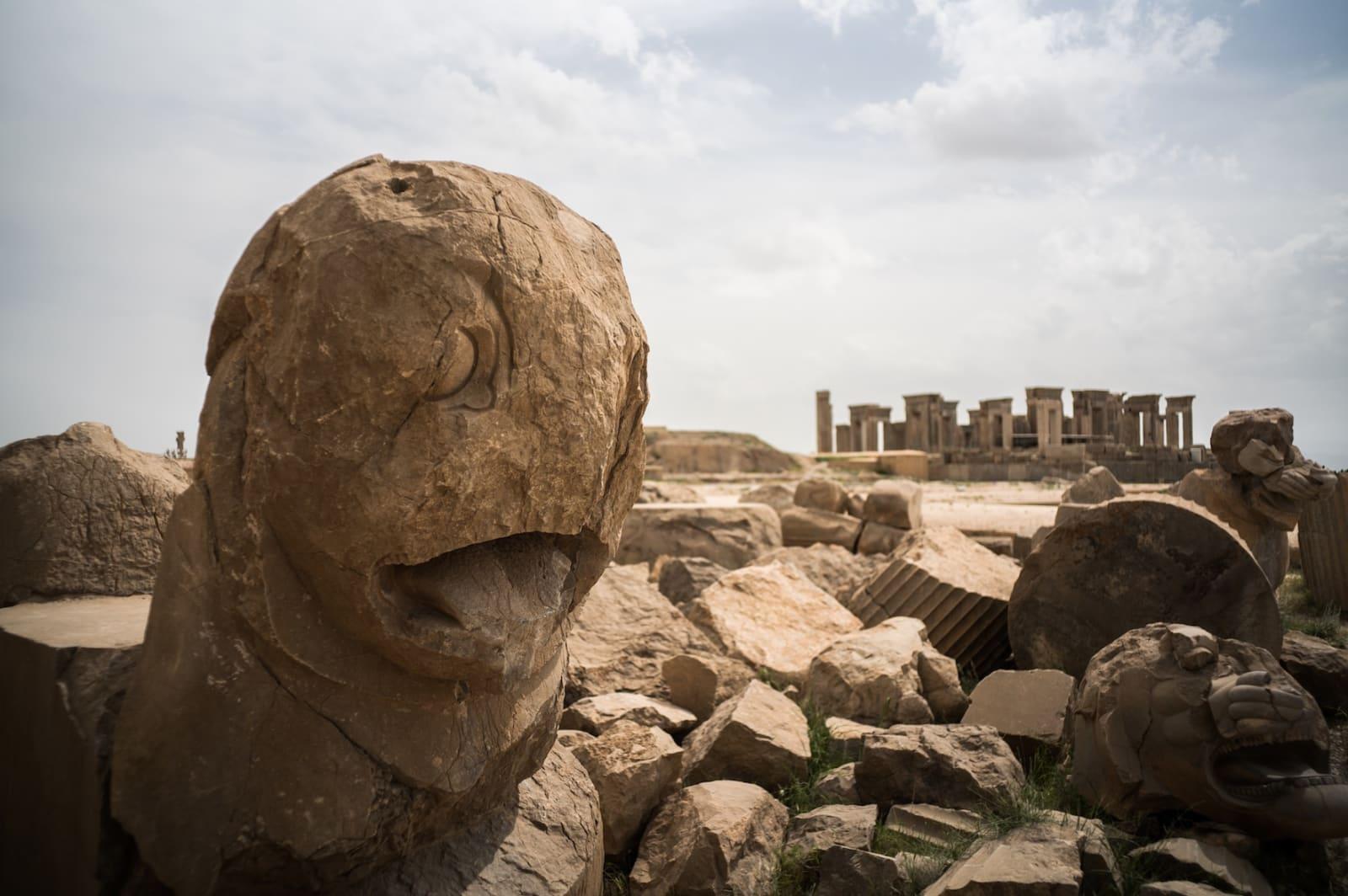 De gamle perserne satte stor pris på arkitektur og håndverk.