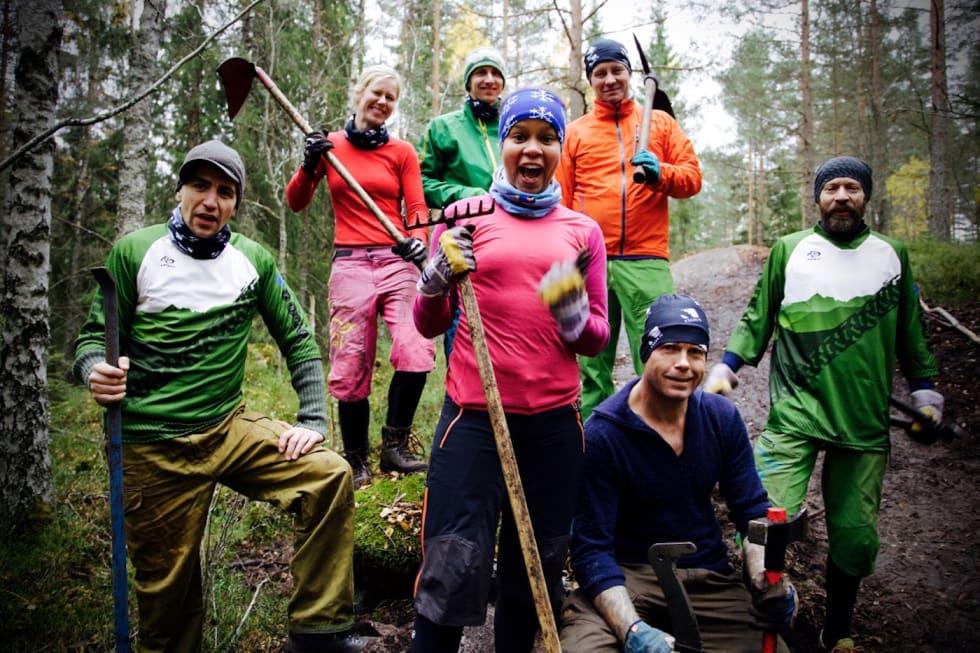 Katrine Ferao Hofstad - dugnad Pioneren 22 okt 2016- Knut Enoksen 1400x933
