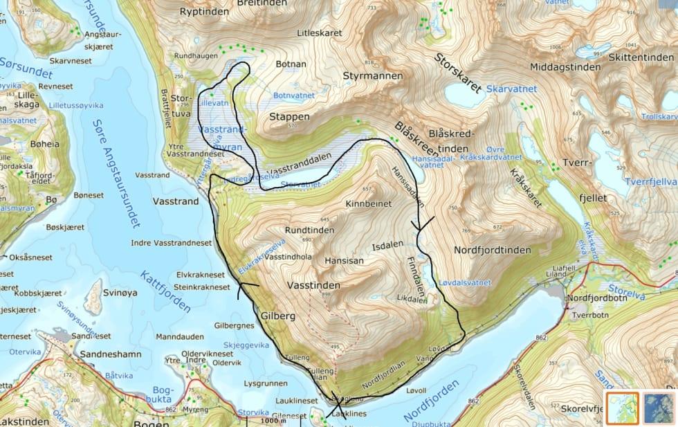 Kvaløya map Feb 2018 - Pål Jakobsen 1400x892