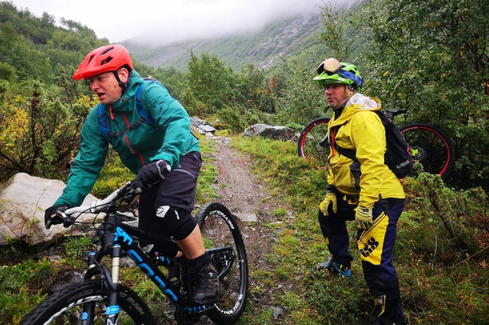 Festivalsjefen holder enduro clinic Folven 2018 Foto Inge nilsen 1400x933