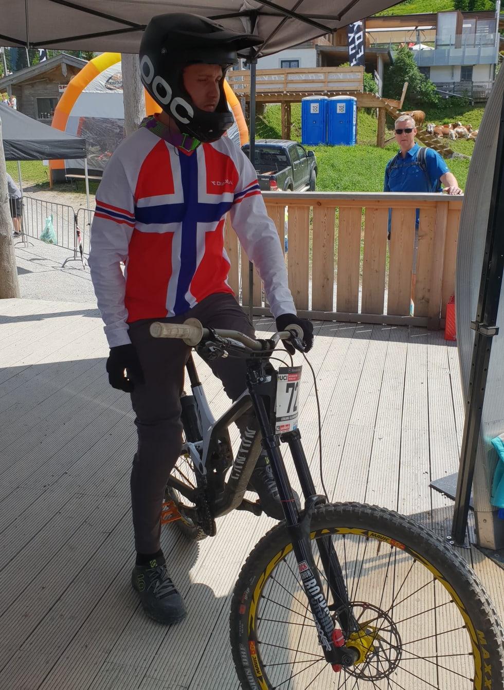 Isak Leivsson - Start WC Leogang 2018 - Niclas Andersen 1000x