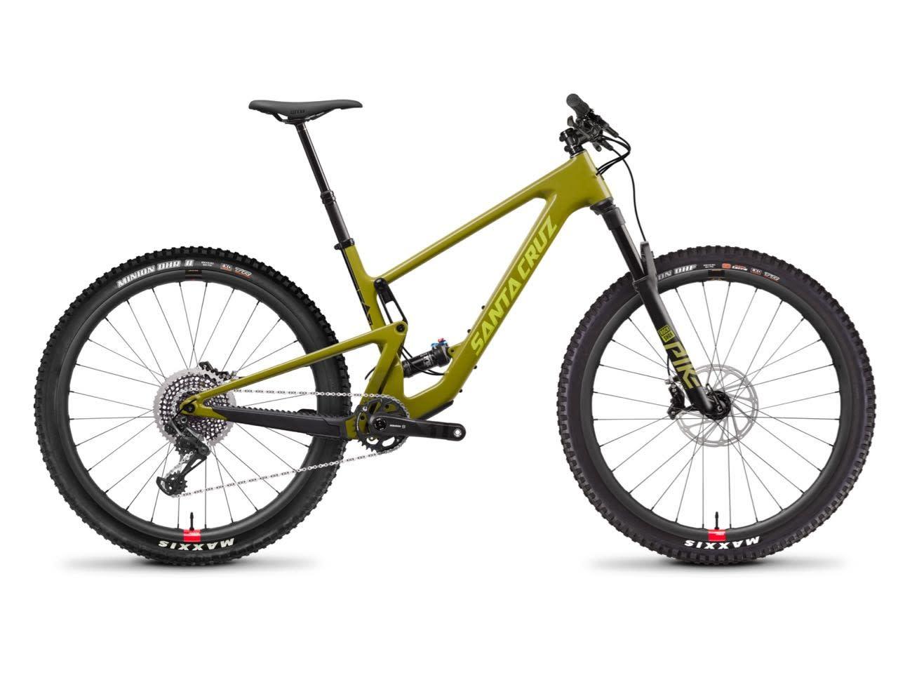TOPPSPEKK: Tallboy CC med Reserve-hjul i karbon.