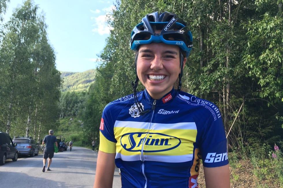 Amalie Lutro - Tempo Tour de Hallingdal 2018 - Scheve 1400x933
