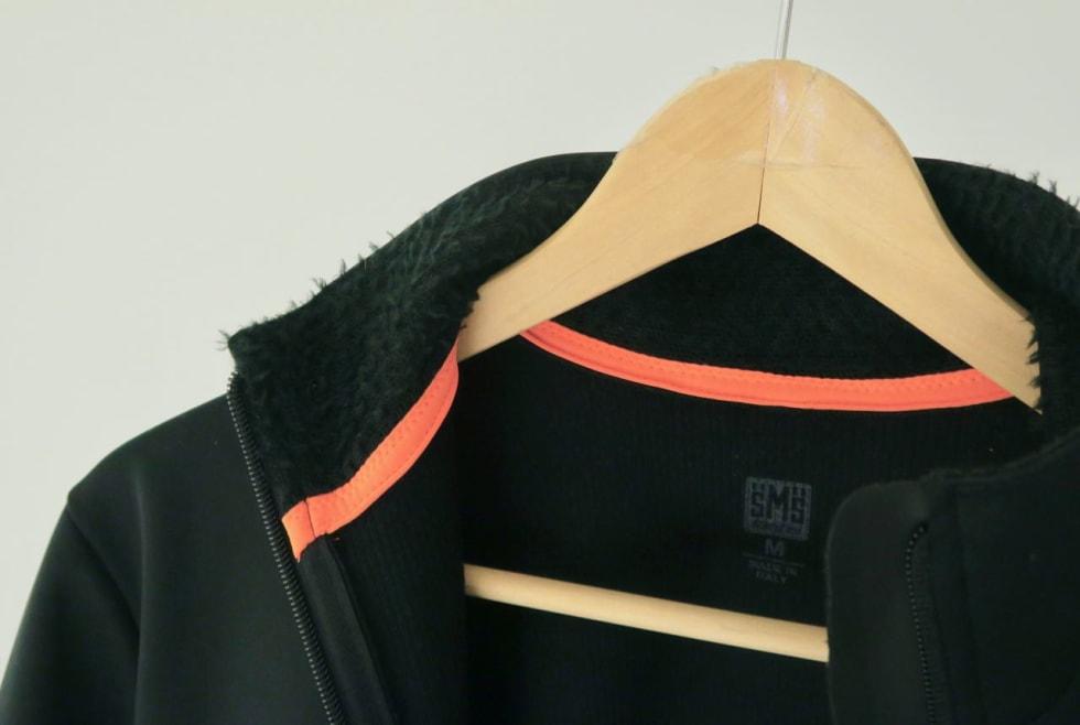 PELTZ: Foret inne i kragen er mykt og varmt. Det er laget av Polartecs Alpha-stoff som omtales som hydrofobisk og isolerende.