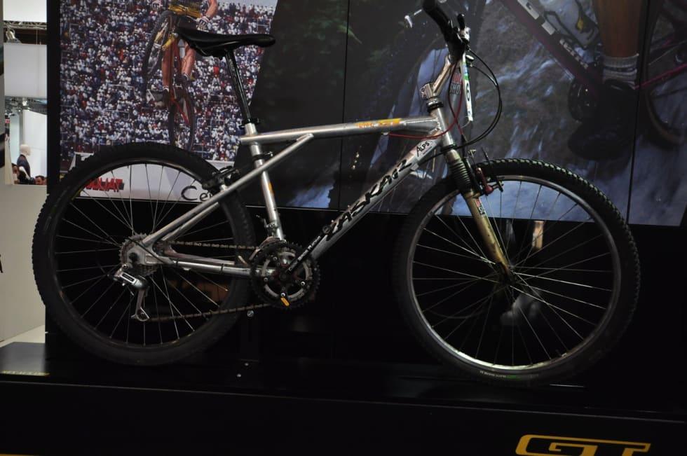 KLASSISK ALU: GT ZASKAR er en av terrengsykkelhistoriens mest ikoniske sykler.