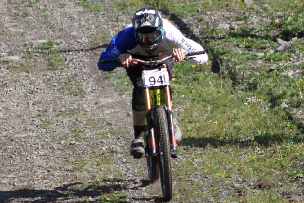 Frikk Hess-Bolstad ble norgesmester sist mesterskapet ble arrangert i Hafjell. Foto: Cato Karbøl