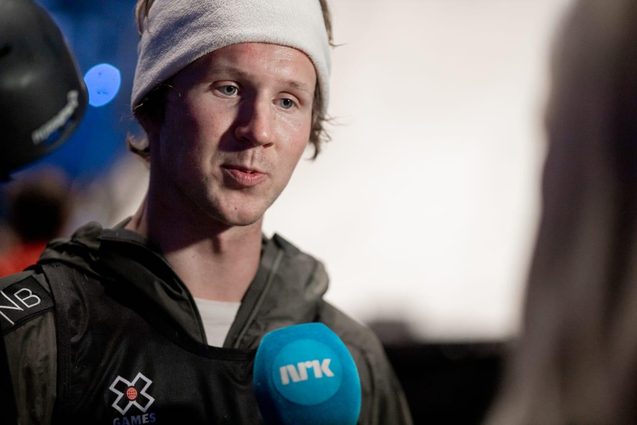 Christian Nummedal falt i sine to siste runs. Foto: Andreas Løve Storm Fausko