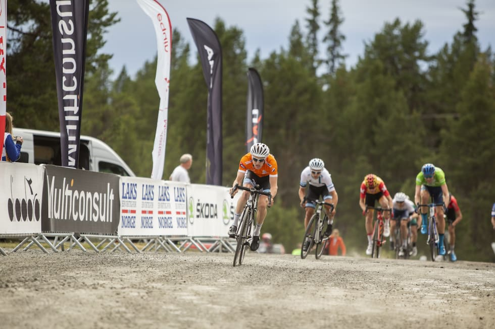 Kristian Aasvold - trond Haakon Trondsen - Markus Hoelgaard - Tour de Hallingdal Stage 2 Sr Men - Pål Westgaard 1400x933