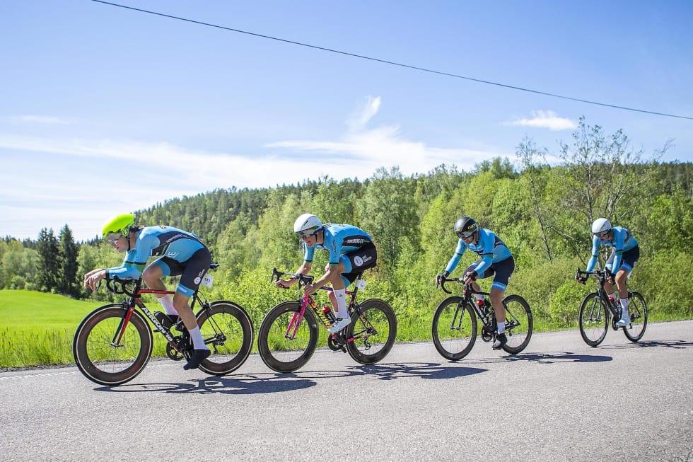 Tønsberg CK kom 55 sekunder for sent til seier. Foto: Pål Westgaard