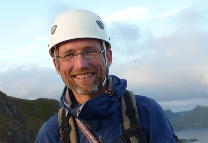 OMKOM: Eivind Smeland (52) omkom i en ulykke i Lyngsalpene mandag 9. april. Foto: Privat