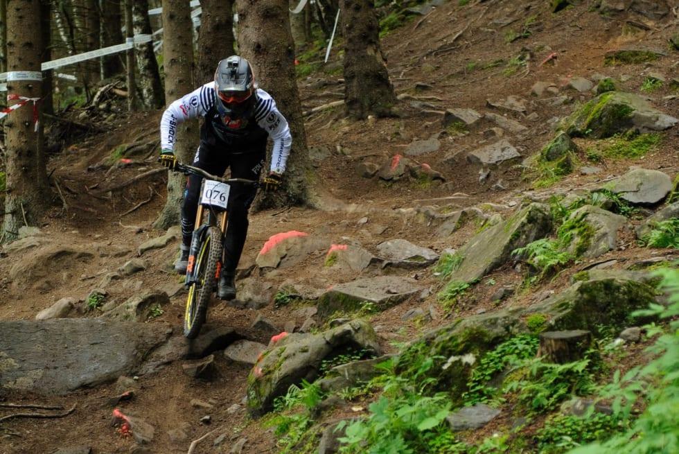 Brage Vestavik vant NM senior menn. Foto: Jon Borgersen