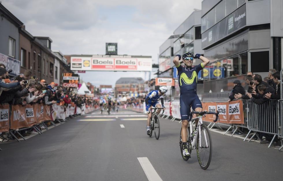 GAMLIS: Alejandro Valverde, old man og Liège-Bastogne-Liège-grossist. Ingen kunne gjøre noe med Valverde i fjor. Er det troneskifte i år? Foto: Kristof Ramon.