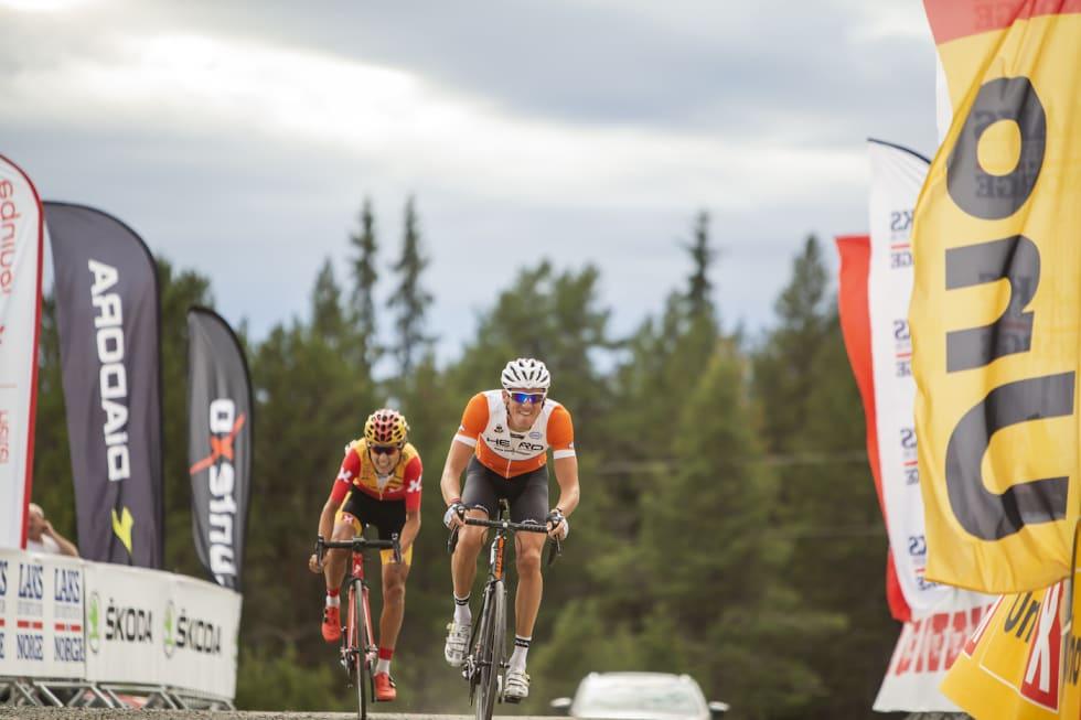 Frederik Wilmann - Torstein Træen - Tour de Hallingdal Stage 2 Sr Men - Pål Westgaard 1400x933