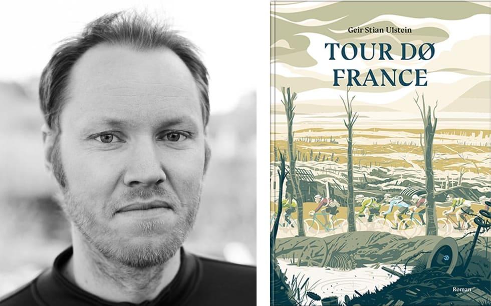 FORFATTER: Geir Stian Ulstein har tidligere skrevet sykkelbøkene Drømmenes Fjell, Bakker og berg, 71 bakker du må sykle i Norge og Monumentene. Nå er han ute med romanen Tour Dø France. Boka har omslag illustrert av Simon Scarsbrook.