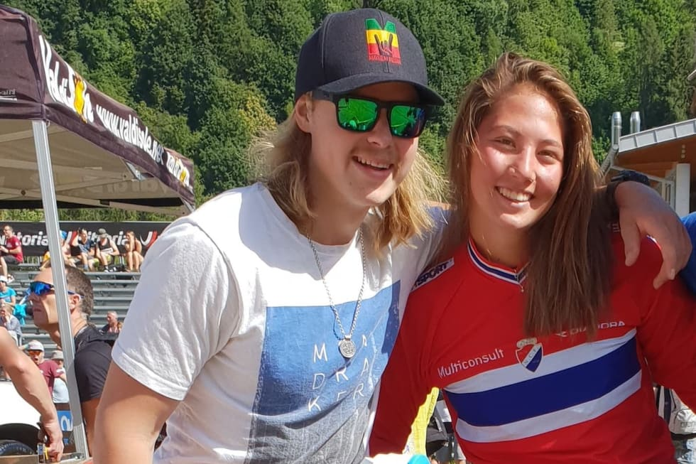Brage Vestavik - Mille Johnset - WC Val di Sole 2018 - Niclas Stensrud Andersen copy