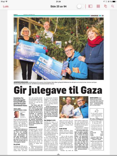 RAUS: Eivind Smeland gav bort inntektene fra boka The Lyngen Alps til et proteseverksted i Gaza.