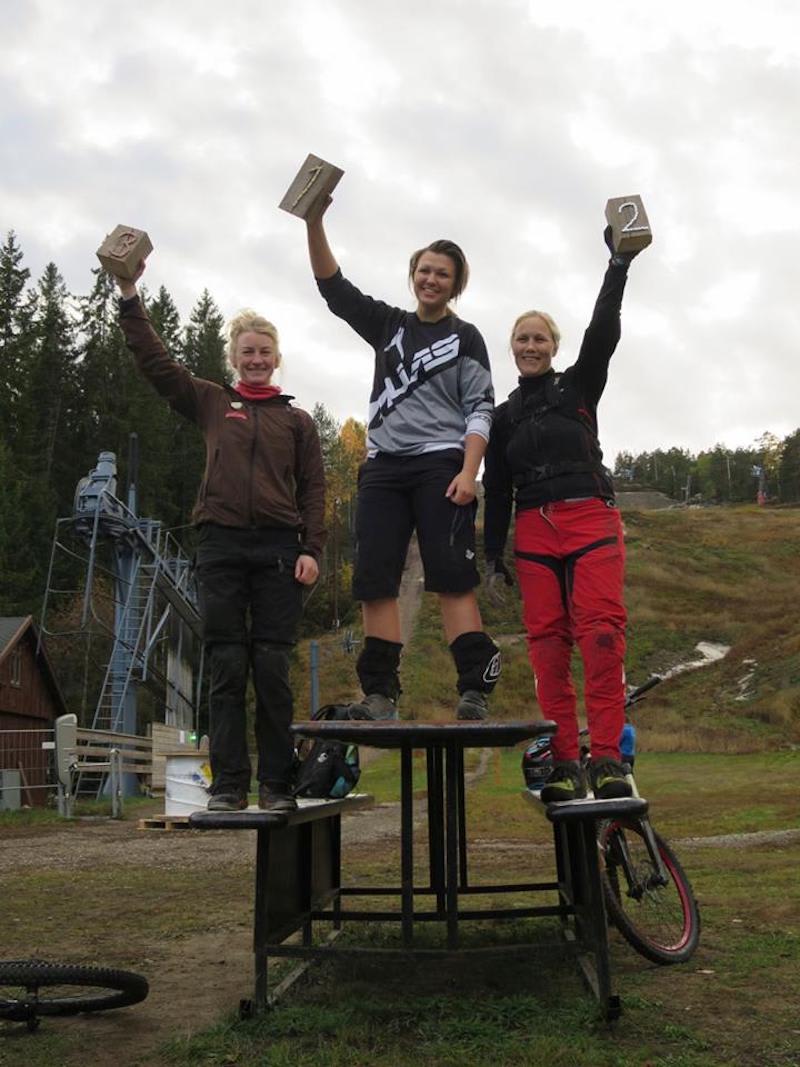 Ida Rydland Nærum - Emily Nerland - Marte Lund - Kamoen om Gubben 2018 - Foto Petter Wilhelmsen