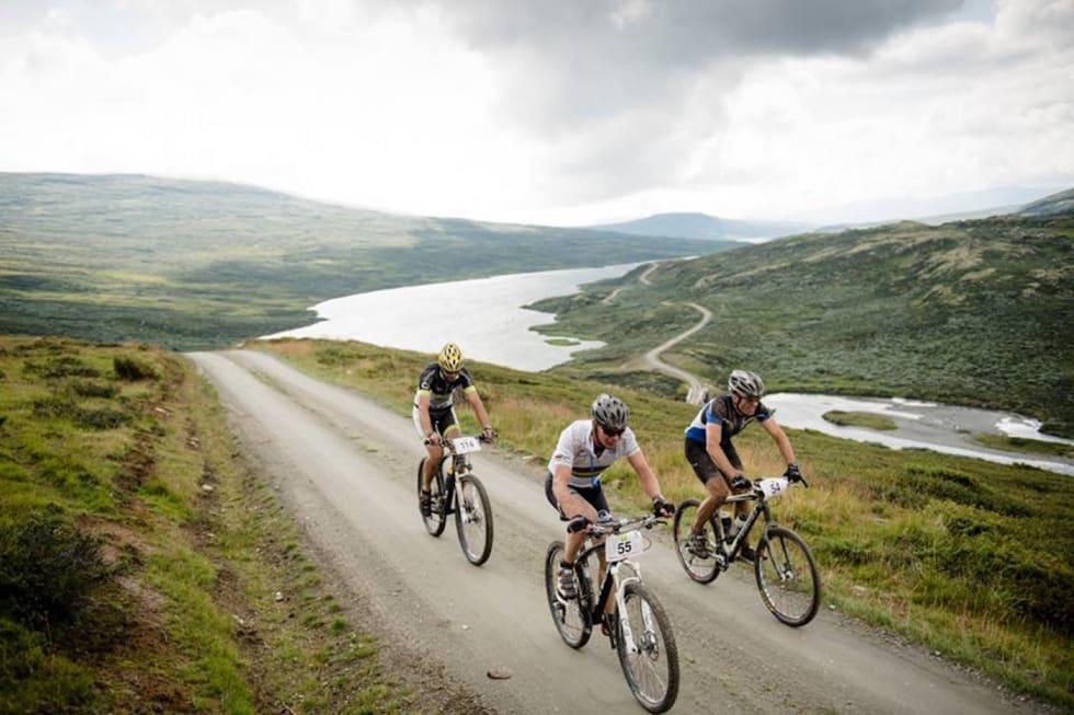 Er det grus og hardtail som i gamle dager som skal til for å lokke deltakerne tilbake til SykkelEnern? Foto: Enern Oppdal