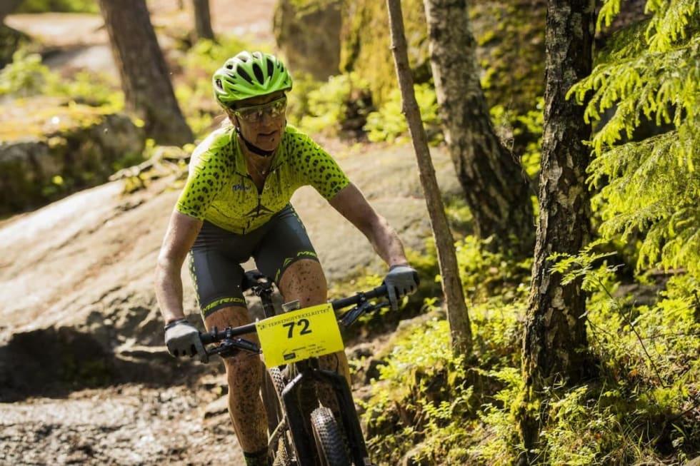 Gunn-Rita Dahle Flesjå, her fra Terrengsykkelrittet i fjor. Foto: Snorre Veggen