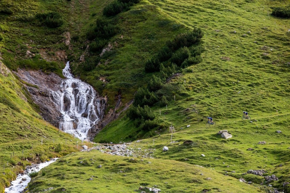 Fra tredje etappe i Swiss Epic 2019. Foto: Sam Clark/Swiss Epic